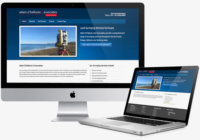 Adam O'Halloran Website project image
