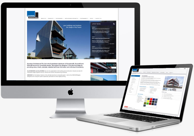 Alucobond Website project image