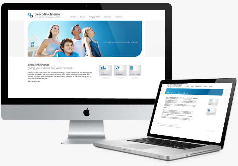 Direct Link Finance Website project image