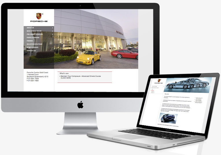 friday / Porsche Goldcoast Website project image