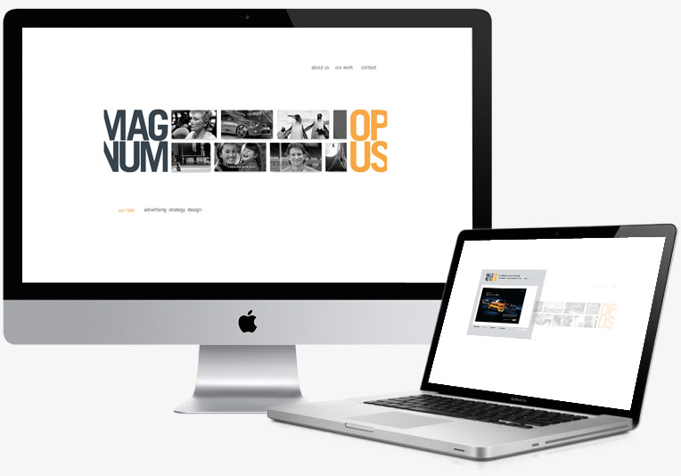 Magnum Opus Website project image